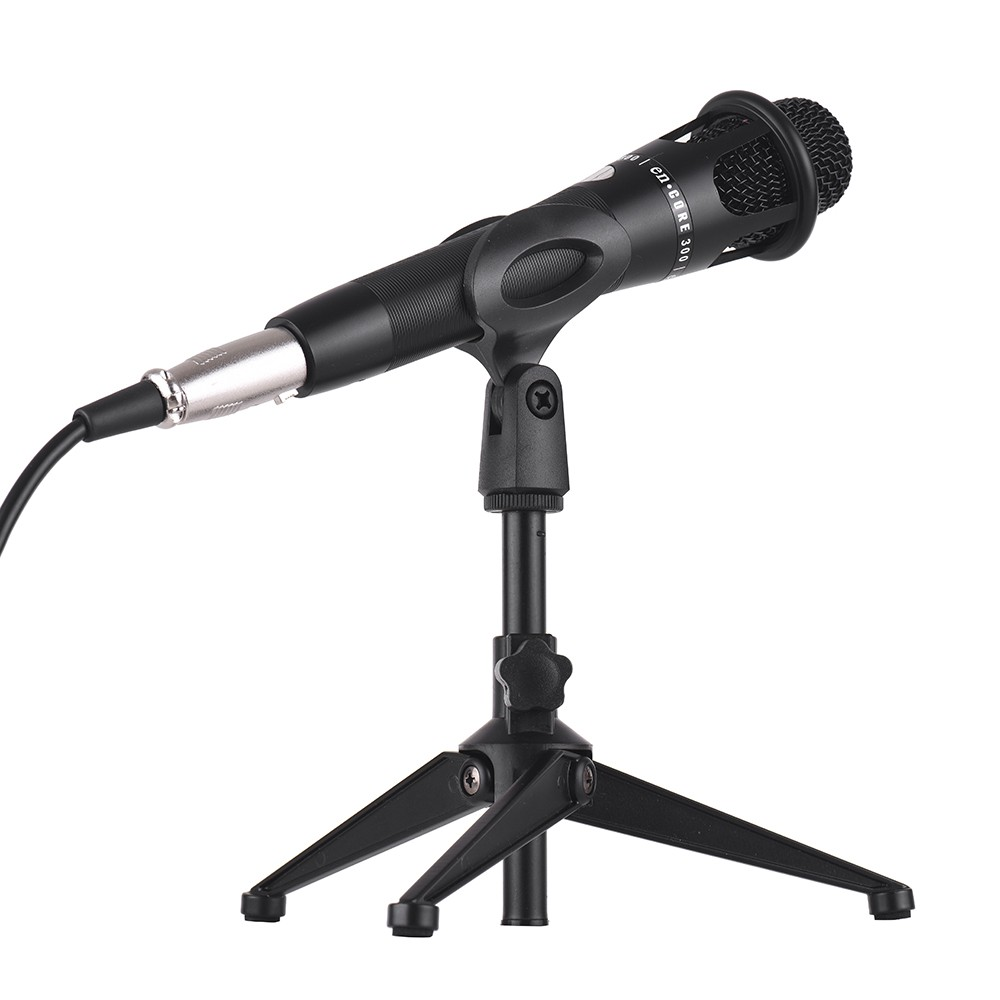 USB Sound Card W/ Microphone, Earphone and Tripod Audio Cable for Broadcast Live Streaming
