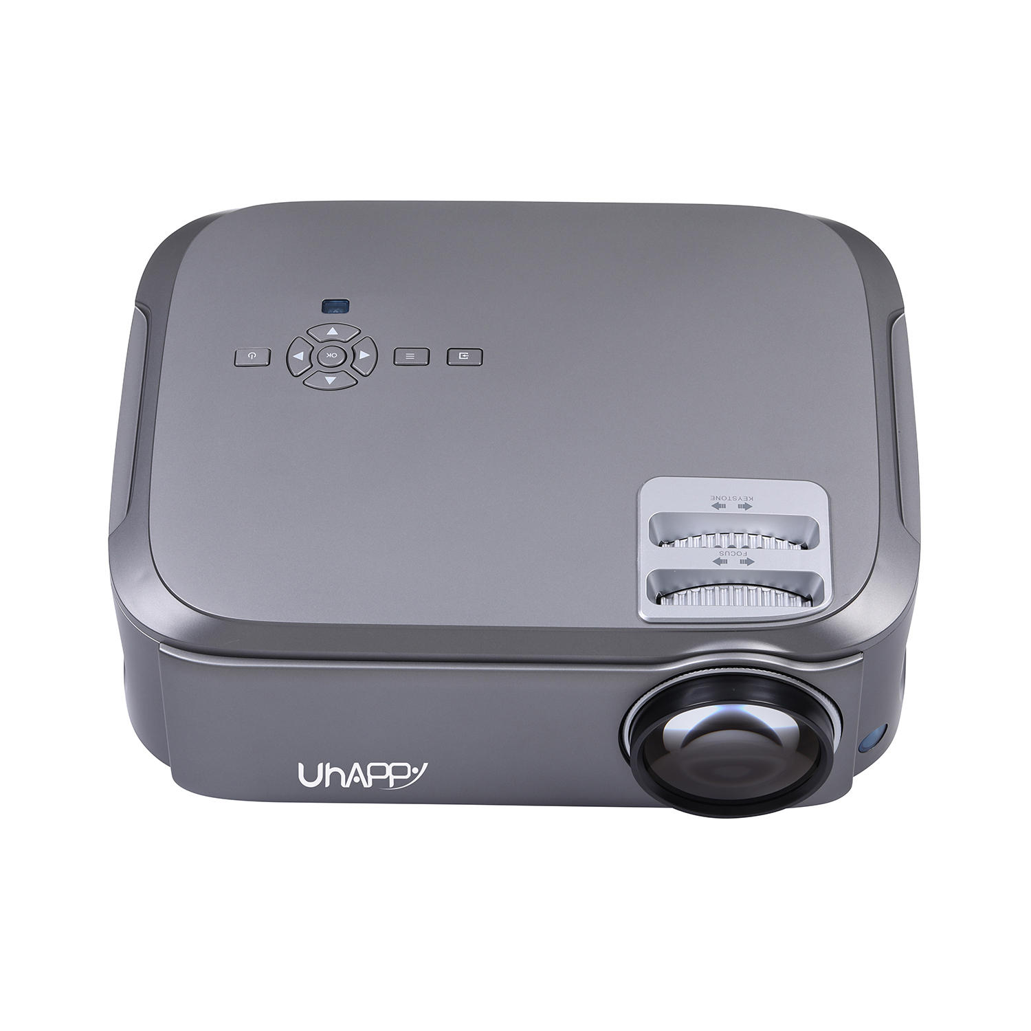 UHAPPY U76 Pro Android 6.0 LED Projector Mini Home Theater (1920x1080p HD, 3500 Lumens)