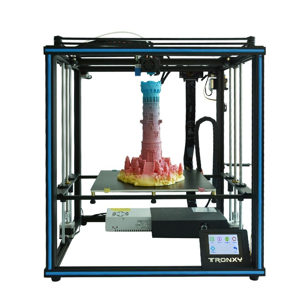 Wholesale TRONXY X5SA-400 DIY 3D Printer Kit 400*400*400mm Large Printing Size Touch Screen Auto Leveling