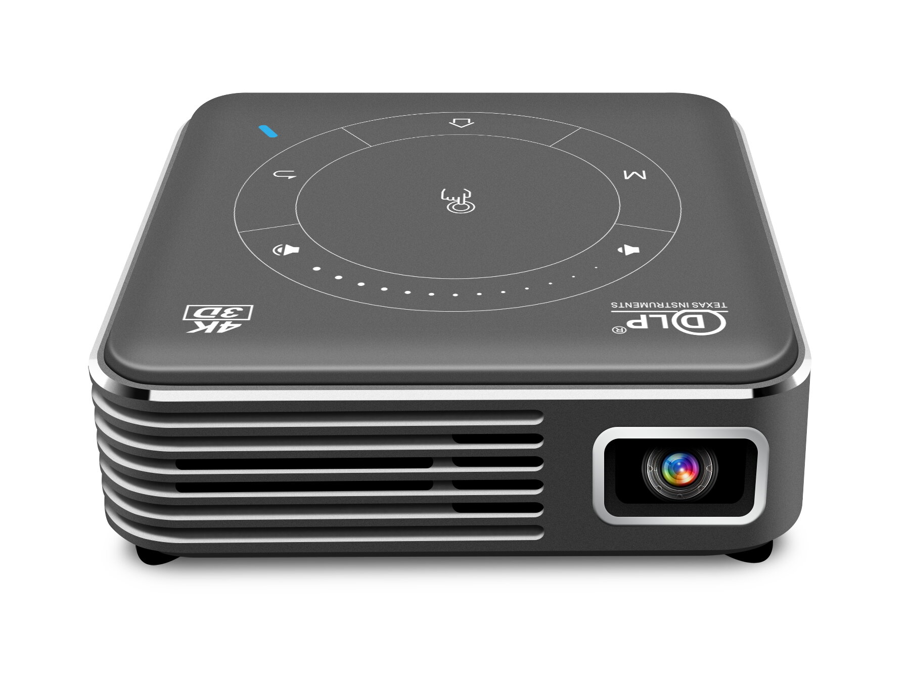 P11 DLP Mini Projector Android 9.0 4GB+32GB 1000 Lumens Smart Pocket 3D Support Miracast Wi-Fi Home Video Projector Beamer