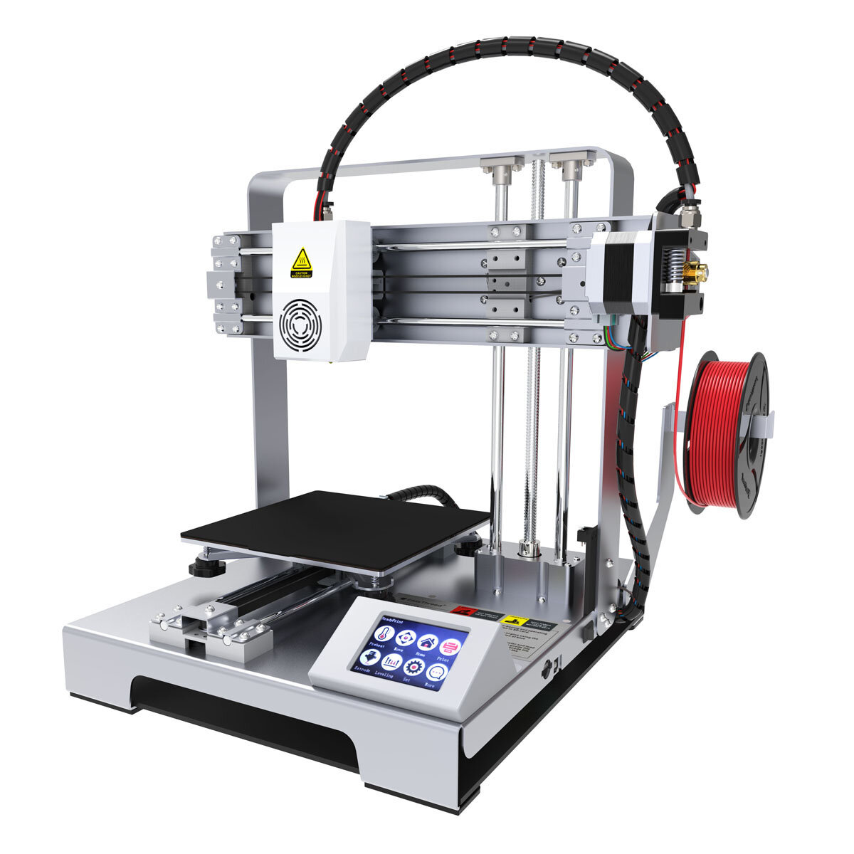 Wholesale Easythreed X6 Desktop Portable DIY 3D Printer Kit 140*140*140mm Print Size with Hotbed 1.75mm 0.4mm Nozzle