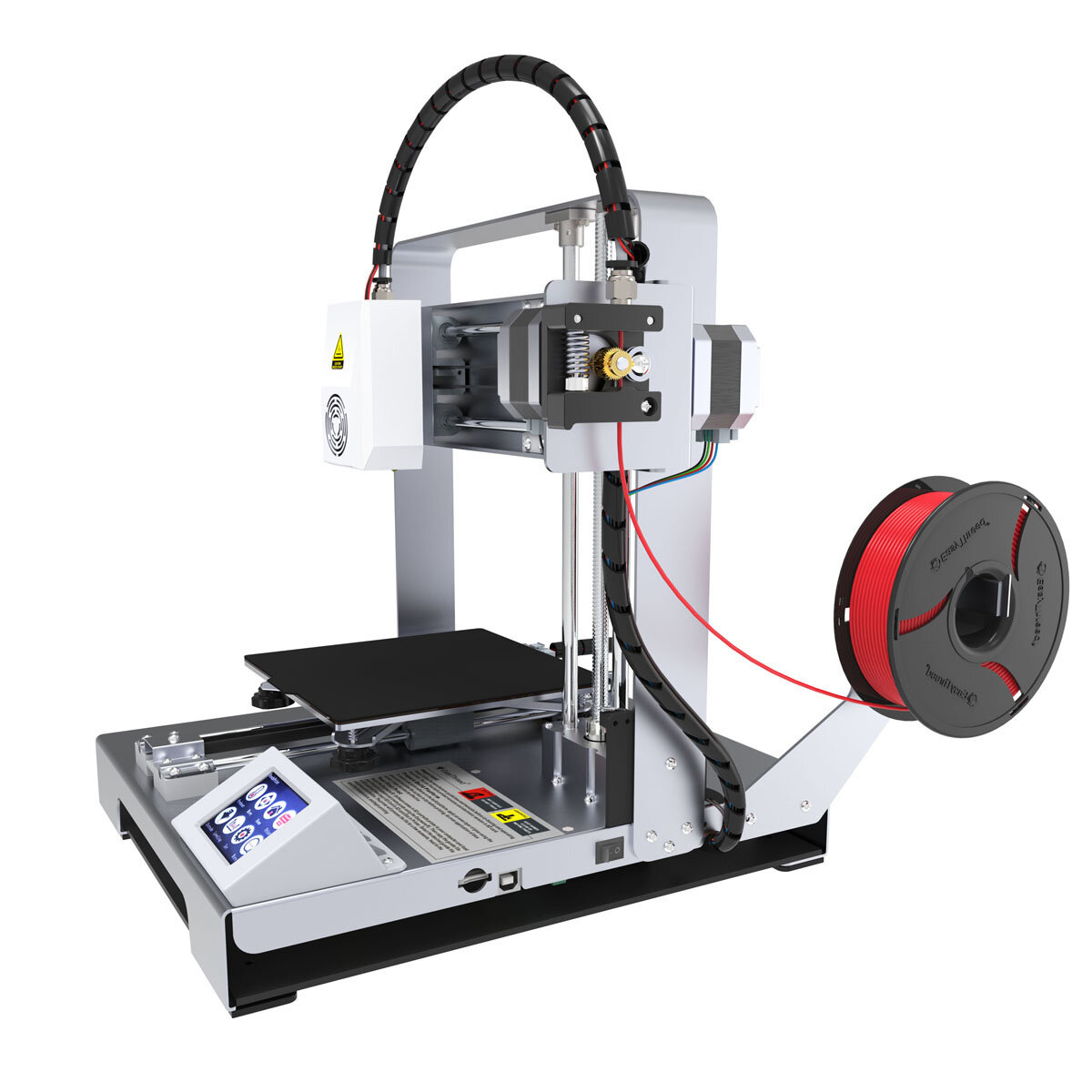 Easythreed X6 Desktop Portable DIY 3D Printer Kit 140*140*140mm Print Size with Hotbed 1.75mm 0.4mm Nozzle