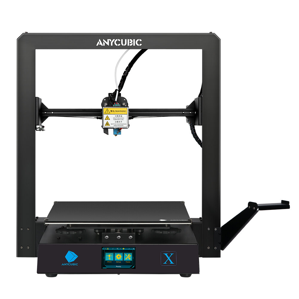 Wholesale Anycubic Mega X 300x300x305mm Printing Size Modular Design with Dual Z Axis Filament Detect Ultrabase Platform