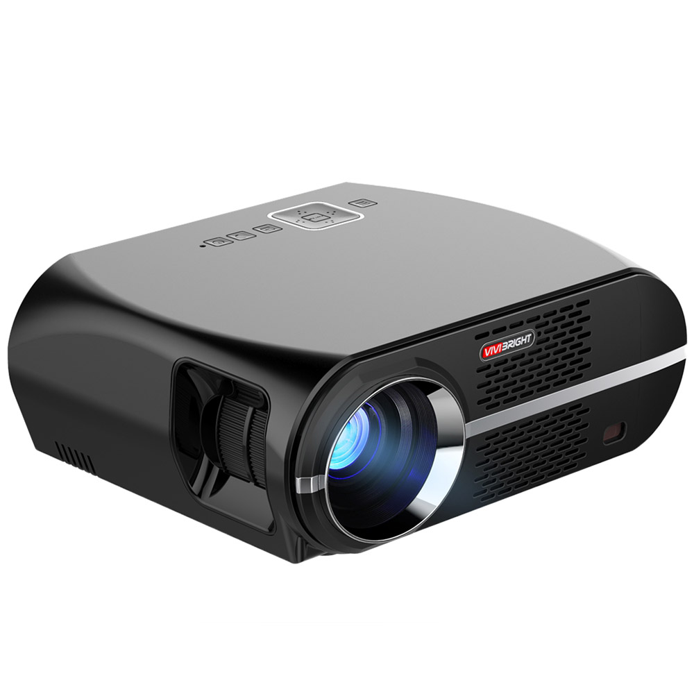 Wholesale VIVIBRIGHT GP100 1080p HD LED Projector (Built-in Speaker, 3200 Lumens, 1280x800, HDMI)