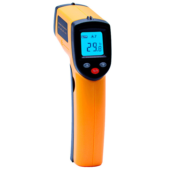 Wholesale GM320 High Precision Handhold Infrared Thermometers - Orange