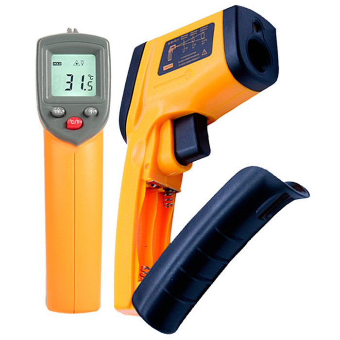 GM320 High Precision Handhold Infrared Thermometers - Orange