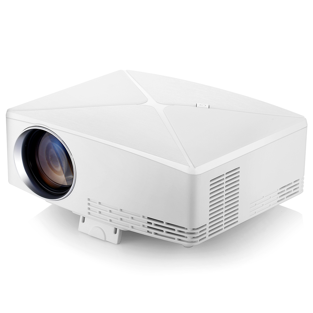 Wholesale VIVIBRIGHT C80 LCD Home Theater Projector - 1500 Lumens Support 1080P HDMI VGA USB for Laptop
