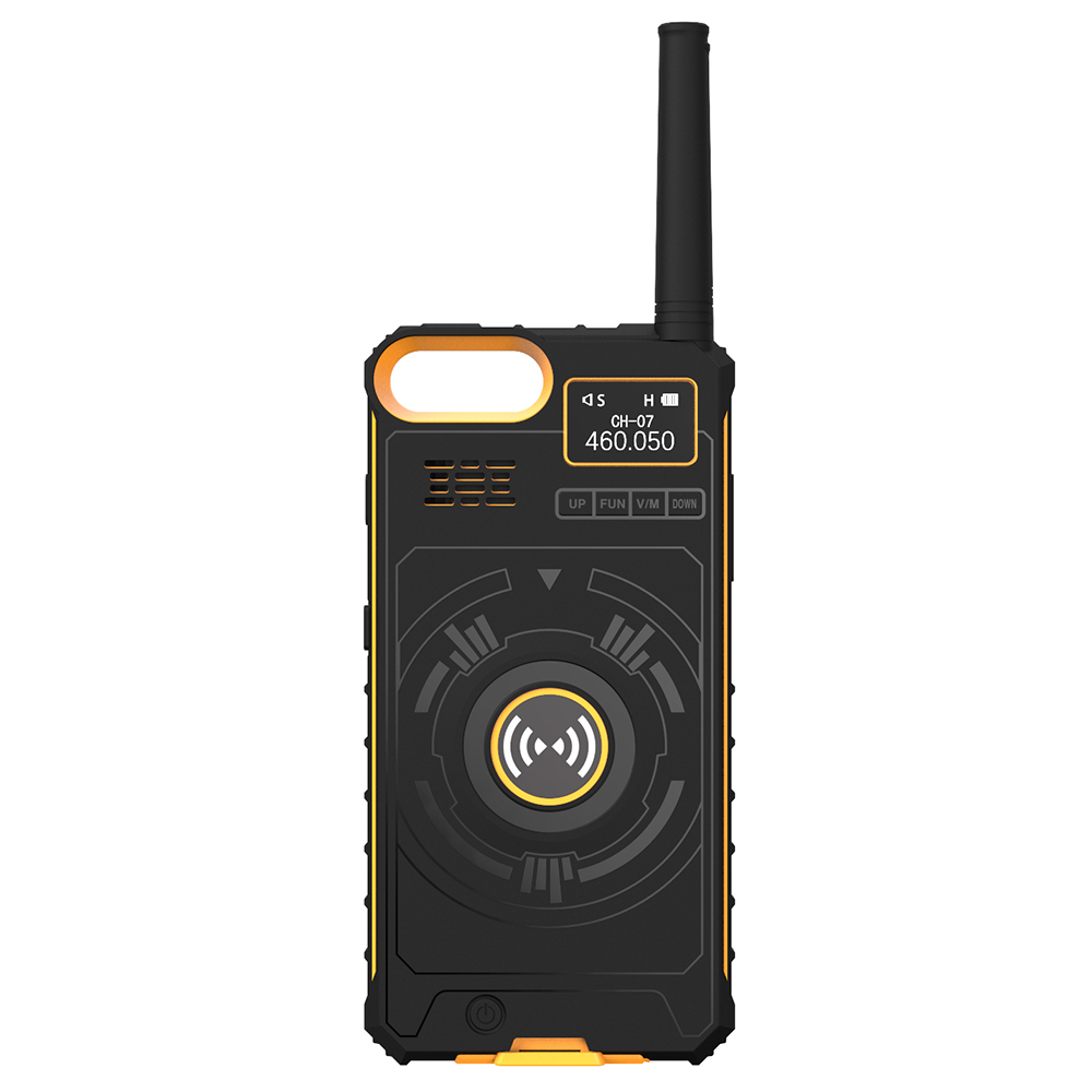 Wholesale NO1 Ip01 Multifunctional Wireless Handheld Walkie Talkie - Bee Yellow 5.5 inch