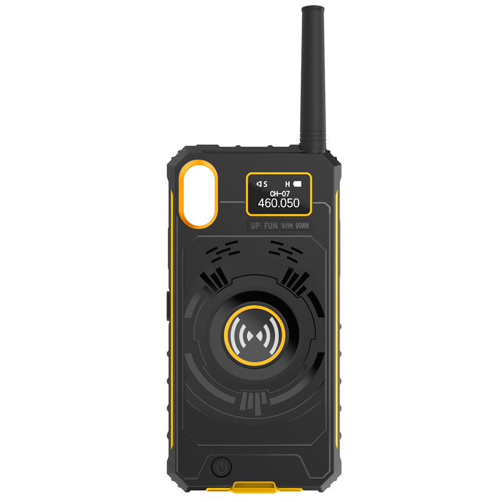 Wholesale NO1 Ip01 Multifunctional Wireless Handheld Walkie Talkie - Bee Yellow ip X