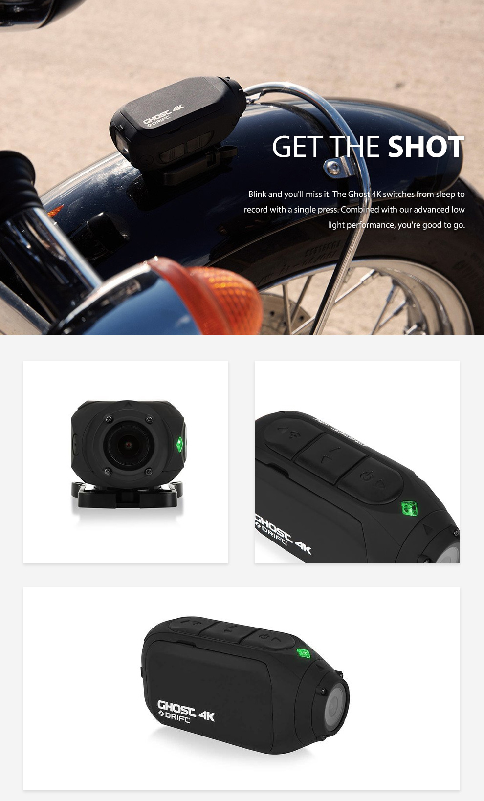 Drift Ghost 4K Action Sports Camera