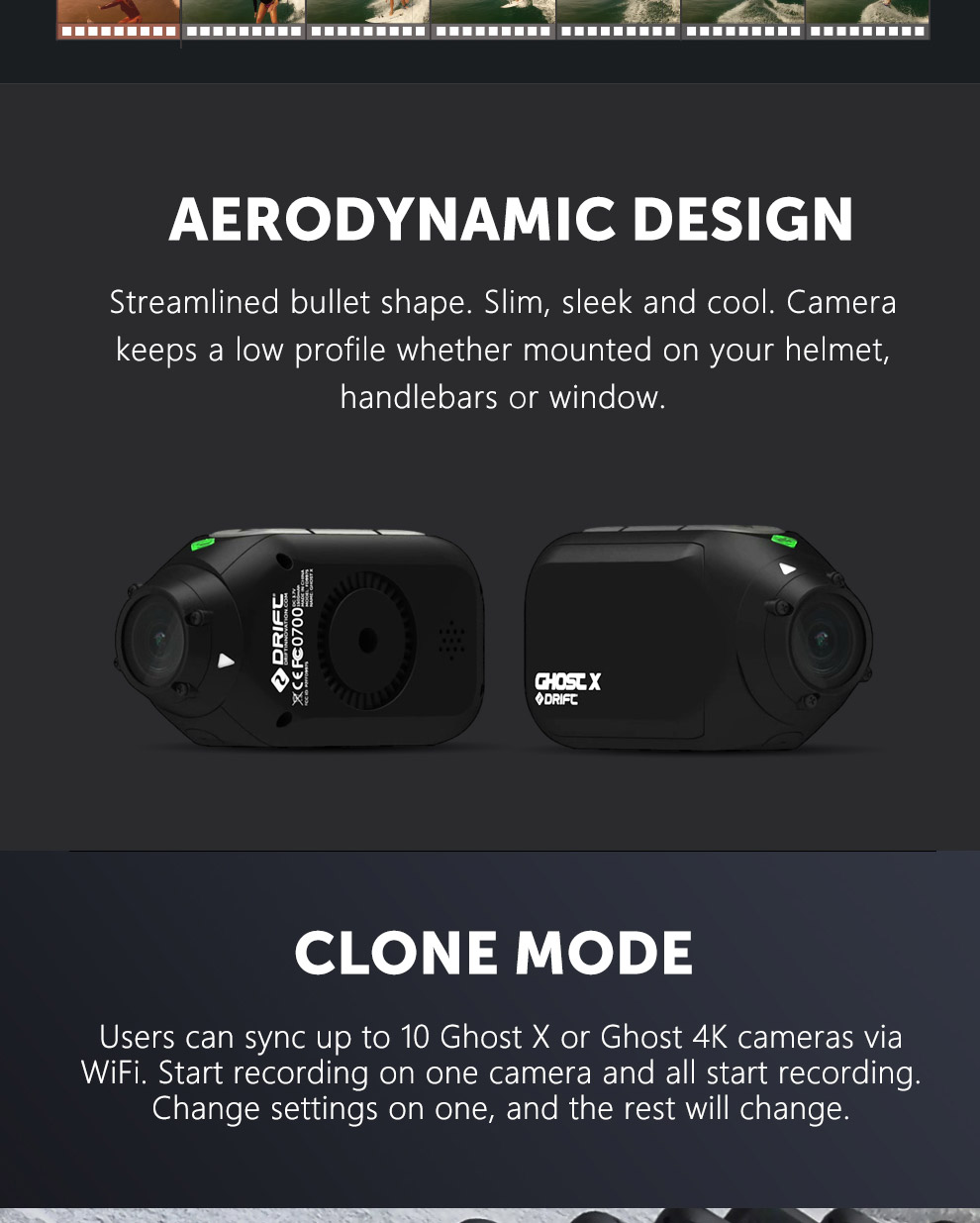 Drift Ghost X Product Specifications