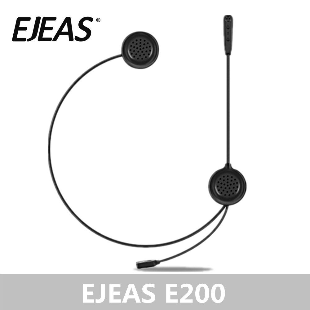 Wholesale EJEAS E200 Bluetooth Helmet Speaker Economic Intercom Headset 300m 2 Riders bt s2 midland Accessories