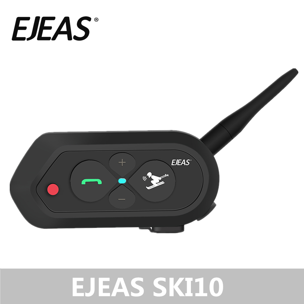 Wholesale EJEAS SKI10 1200m Bluetooth SKI Helmet Intercom Headset Big Butt
