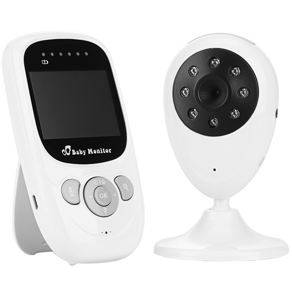Wholesale Sp880 Wireless Digital Vedio Baby Monitor - White English Versio