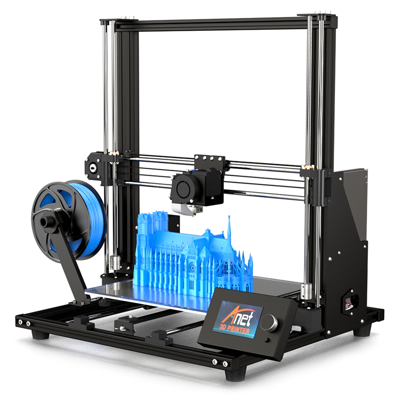 Wholesale Anet A8 Plus DIY 3D Printer (300 x 300 x 350mm, Black)