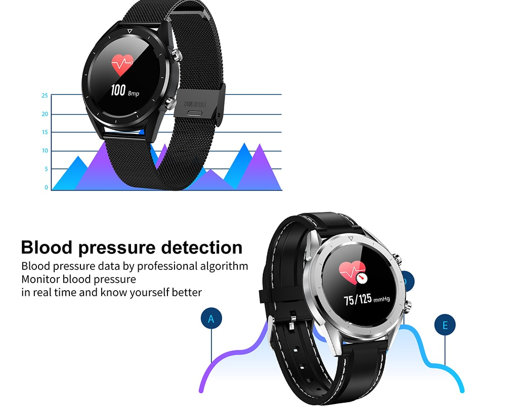 NO.1 DT28 IP68 Waterproof Smart Watch (Heart Rate Monitor, Step Count Sedentary Reminder, Silicone Strip, Silver)