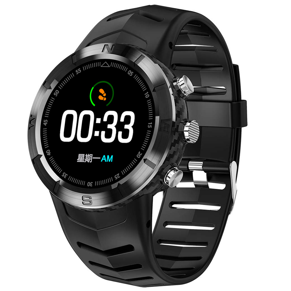Wholesale NO.1 DT08 IP67 Waterproof Smart Watch - Black