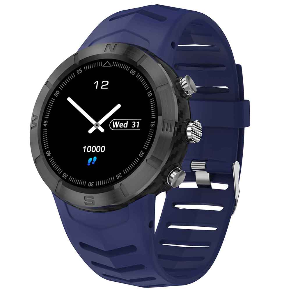 Wholesale NO.1 DT08 IP67 Waterproof Smart Watch - Deep Blue