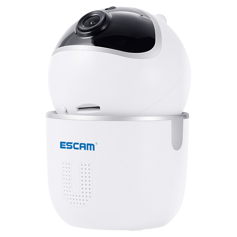 Wholesale ESCAM QF903 3MP P2P Infrared PTZ Network Camera - White
