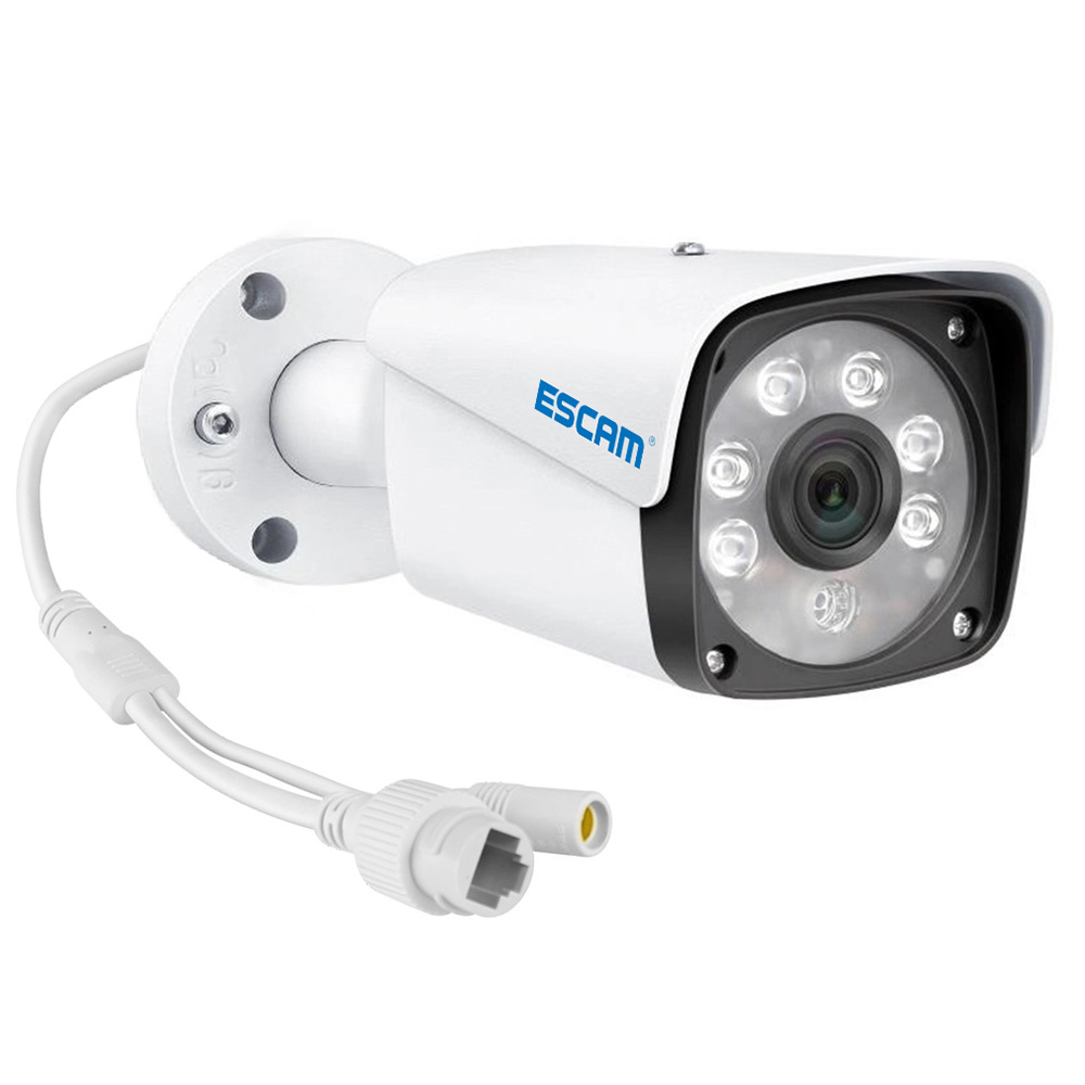 ESCAM PNK001 1080P 4CH POE Set - White