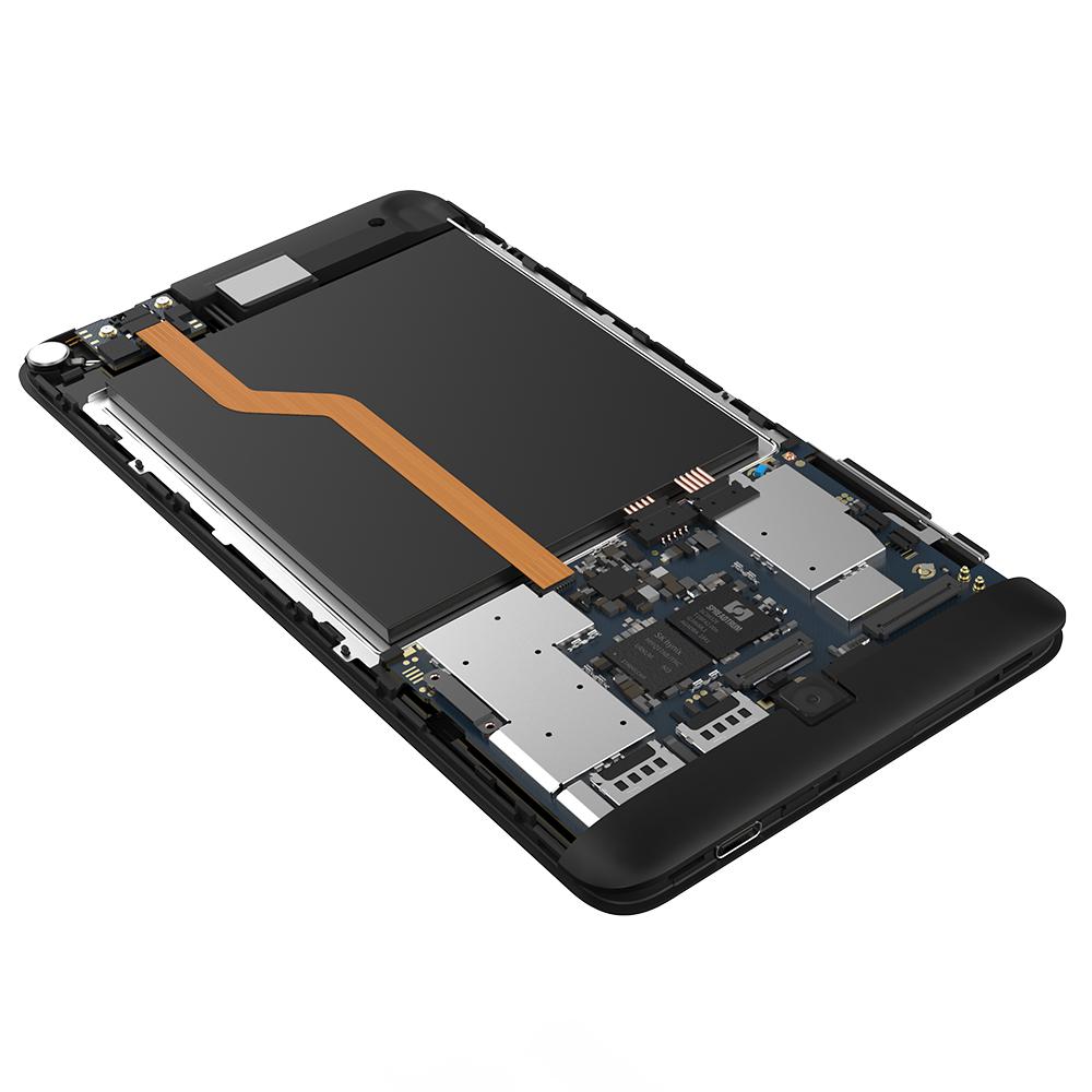 ALLDOCUBE iPlay 7T 6.98 Inch Android 9.0 4G AI Phablet (Unisoc SC9832E Quad-core CPU, Dual Camera, 2GB RAM, 16GB ROM, Black)