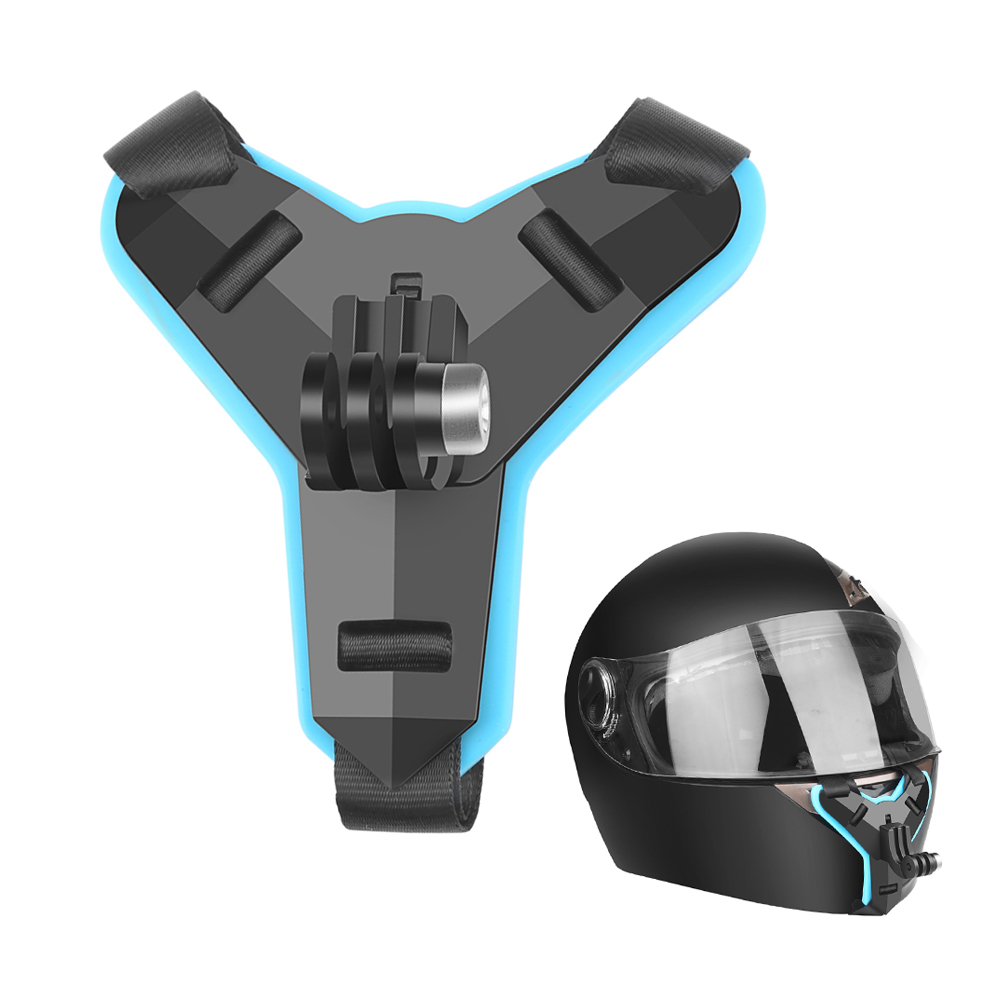 Wholesale Sports Camera Riding Bracket GoPro Helmet Bracket DJI/Hero7/5 Small Ant Parts - Day Sky Blue