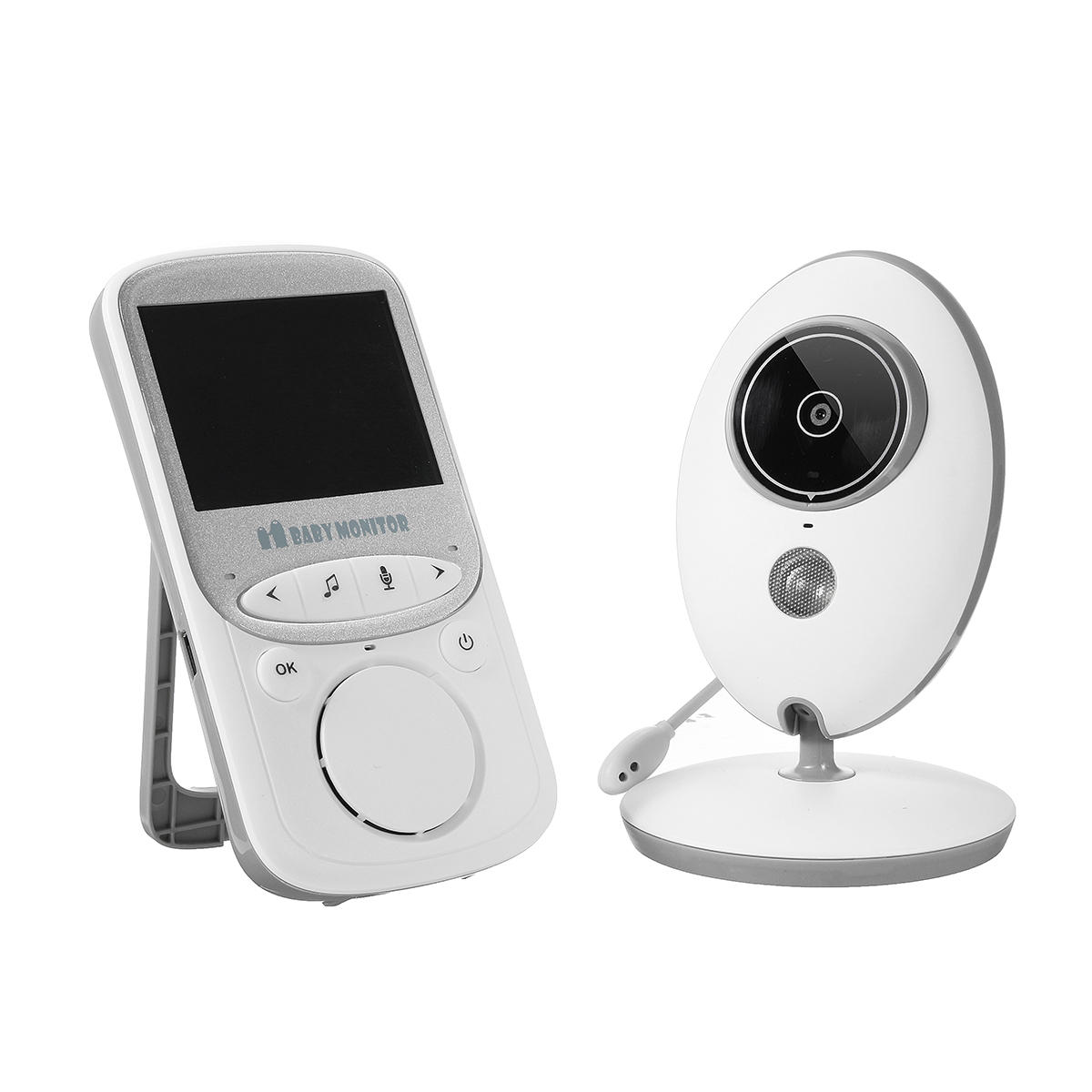 Wholesale Digital Wireless Baby Monitor Night Vision 3.5 Inch LCD Audio Video Security Camera