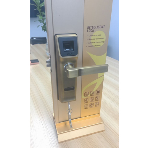Wholesale Biometric Fingerprint Door Lock with Key & IC Sensor