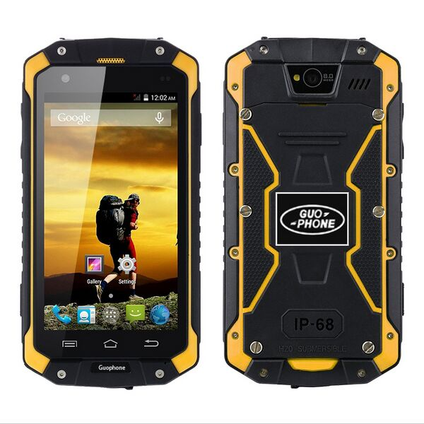 Wholesale V9 IP68 Waterproof Android Phone (512MB RAM, Dual SIM, 4GB, 4000