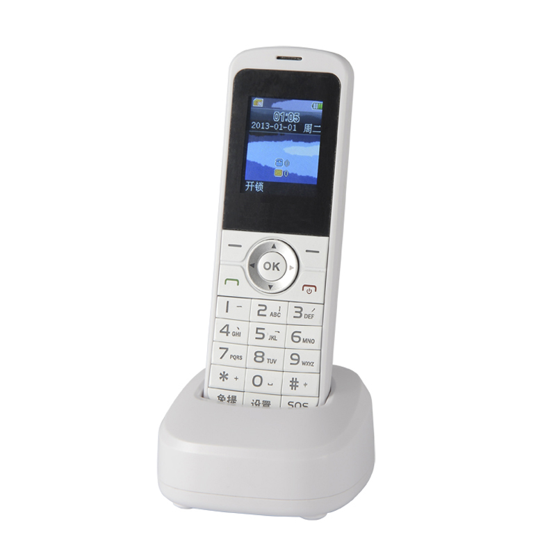 Wholesale Portable Wireless GSM Desk Phone with Charging Base (Handsfree, 1.75 Inch Screen, SMS)