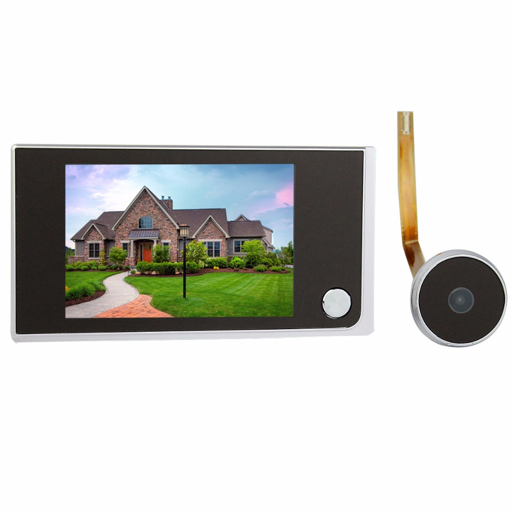 "Wholesale Hot Sale 3.5"" Digital LCD Door Viewer"