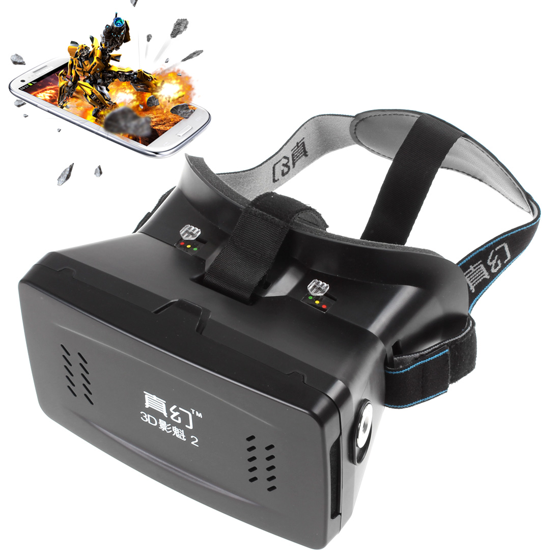 Wholesale Private 3D VR Glasses Virtual Reality DIY 3D Game Cinema Video Glasses for iPhone and Android Smartphone