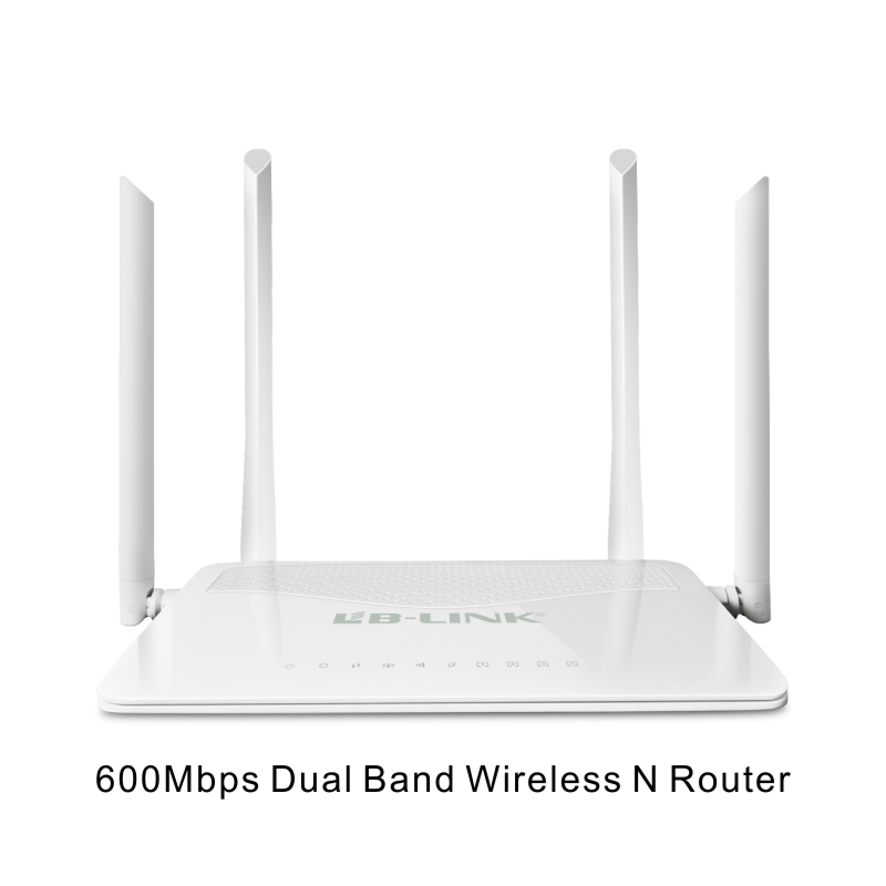 Wholesale 600Mbps Wireless-N Dual-Band 2.4GHz 5GHz WiFi Wireless Router with 4 Antennas