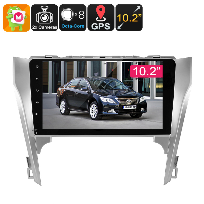 Wholesale 10.2 Inch 2 DIN Car Media Player for Toyota Camry (Bluetooth, WiFi, 3G, GPS Navigation, CAN BUS)