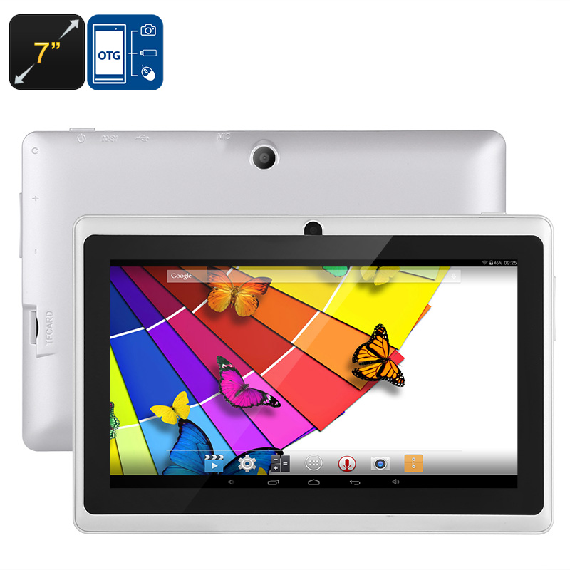 Wholesale Eta - 7 Inch OTG Android 4.4 Tablet PC (A33 Quad Core CPU, Bluetooth, 8GB, Black)