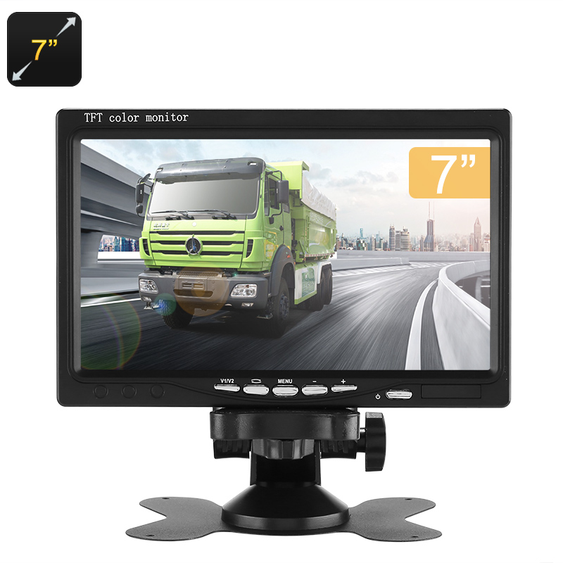 Wholesale 7 Inch TFT LCD Monitor for Car DVR / Rearview Parking Camera (16: 9, 800x480)