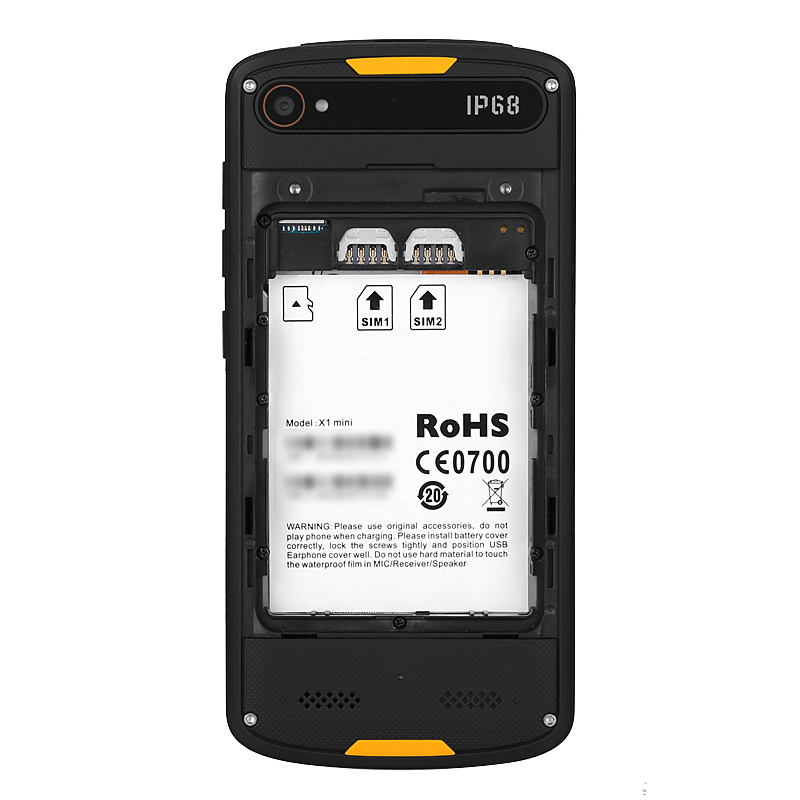 Agm X1 Mini Ip68 Rugged Android Phone Quad Core Cpu 2gb