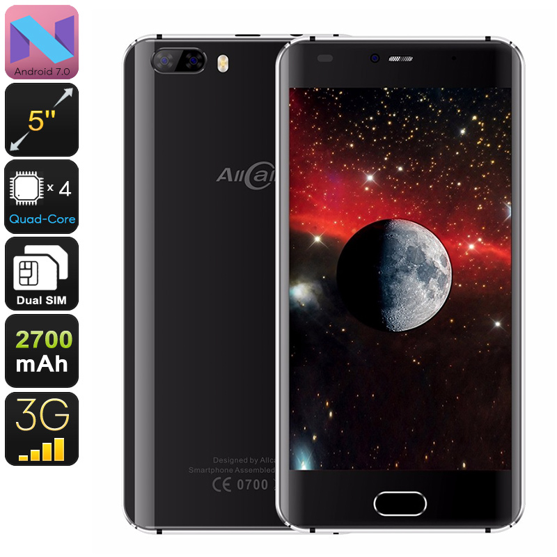 Wholesale AllCall Rio 5 Inch HD Dual SIM Android Phone (Quad-Core CPU, OTG