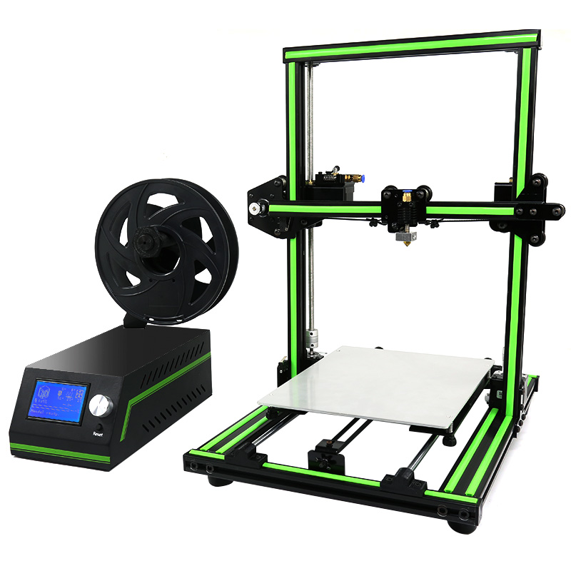 Wholesale Anet E10 DIY 3D Printer (220x270x300mm, High-Precision, SD Card In)