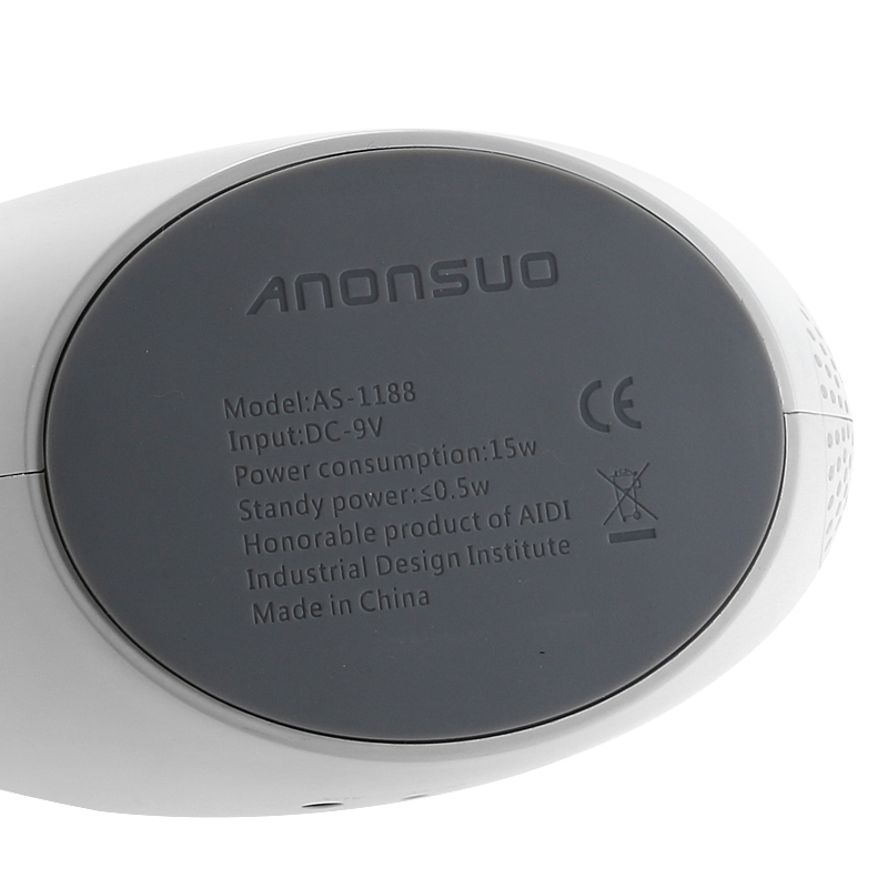 Anonsuo Bluetooth 4.0 Speaker Nightlight (1500 Lumen, LED Lamp, Touch Control)