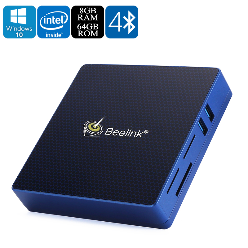 Wholesale Beelink M1 4K Licensed Windows 10 Mini PC (Apollo Lake 1.44GHz C
