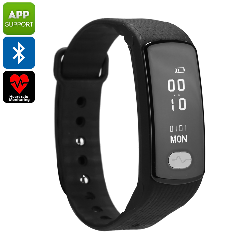 Wholesale Bluetooth Fitness Tracker Bracelet for Android / iOS Smartphone