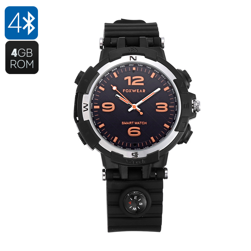 Wholesale Foxwear Stylish Bluetooth Sports Watch with Health Fitness Track
