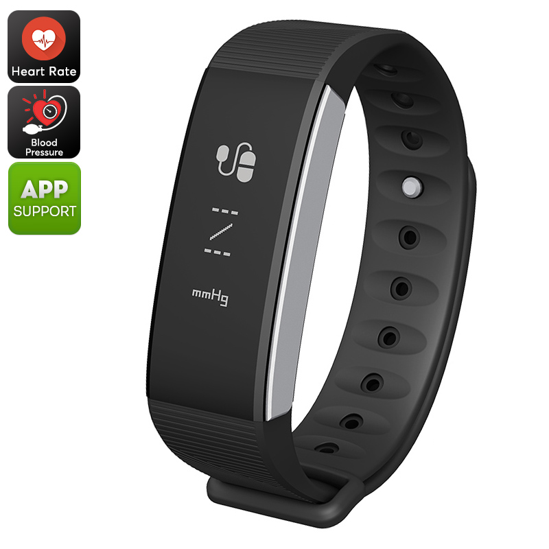 Wholesale C9 Sports Tracker Bracelet - Heart Rate Monitor, Blood Pressure,