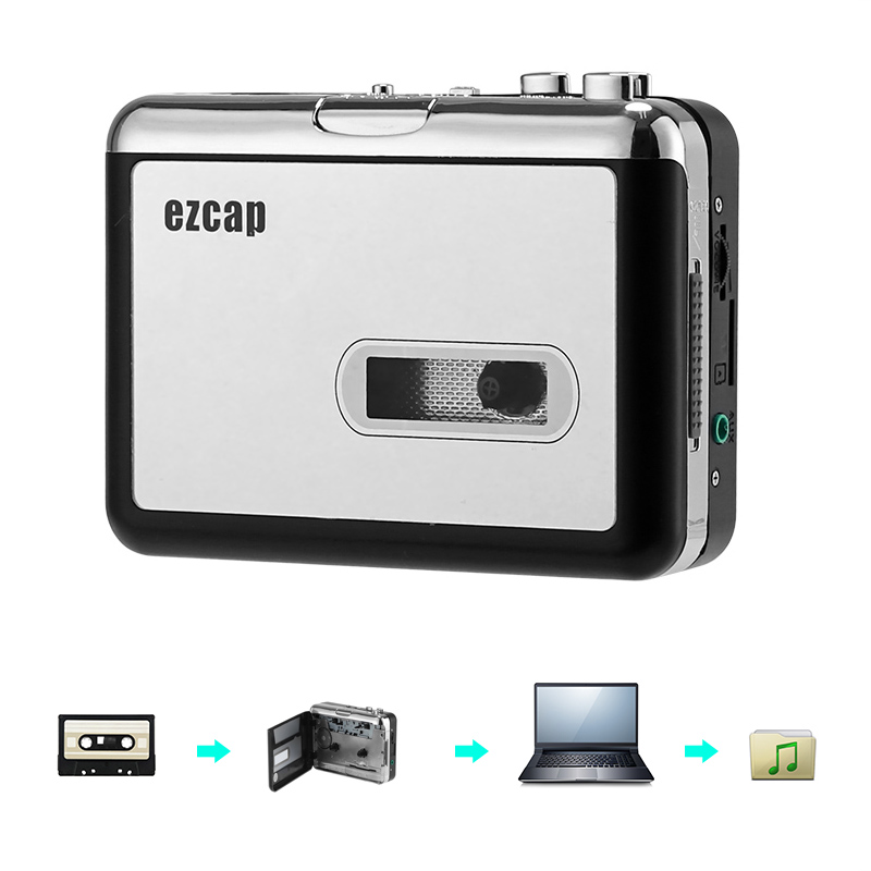 Wholesale Cassette To MP3 Converter (Music Play Back, 3.5mm Audio Output, Micro SD Card Slot)