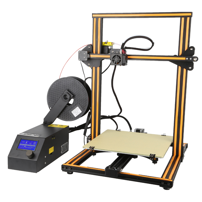 Wholesale Creality 3D CR-10 DIY 3D Printer (300x300x400mm, High Precision)