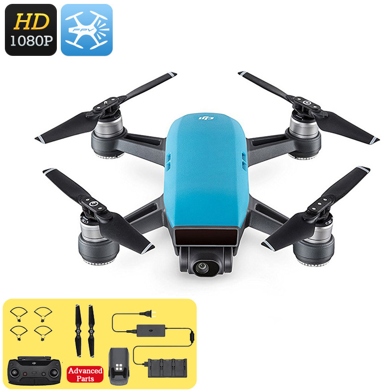Wholesale DJI Spark Mini Drone - 1080P Camera, 12MP CMOS, 3D Sensor System, WiFi, FPV, 50KM/h, Gesture Mode, Auto Take-Off And Landing