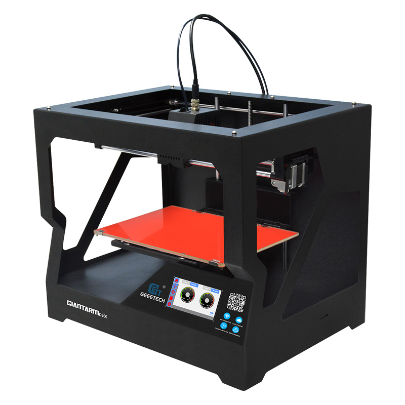 Wholesale Geeetech D200 Cloud Based 3D Printer (WiFi, Large Printing Volume, Wide Filament Range, 0.05mm Precision)