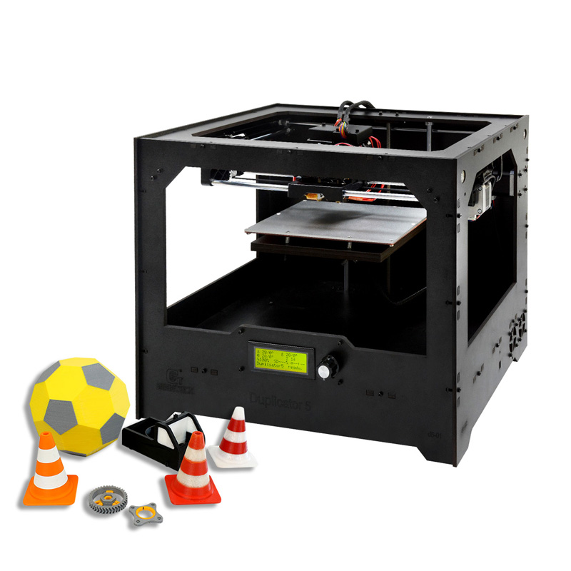 Wholesale Geeetech Duplicator 5 DIY 3D Printer Kit - 0.1mm High-Precision Printing, Wide Filament Range, Large Building Volume, G-Code