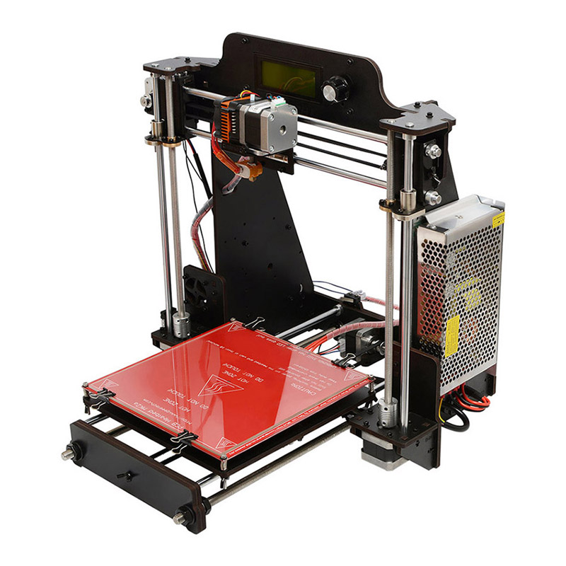 Wholesale Geeetech I3 Pro Wood DIY 3D Printer for Hobbyists, Artists - 200x200x180mm Volume